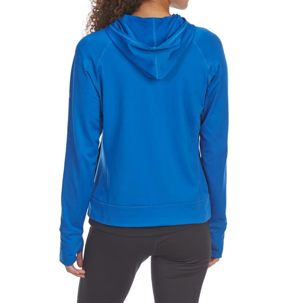 EMS Women's Techwick Transition Full-Zip Hoodie - BALEINE BLUE