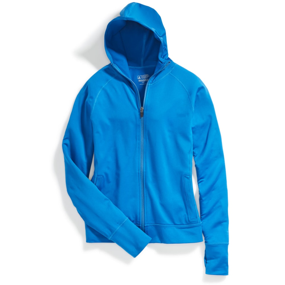 EMS Women's Techwick Transition Full-Zip Hoodie - BALEINE BLUE