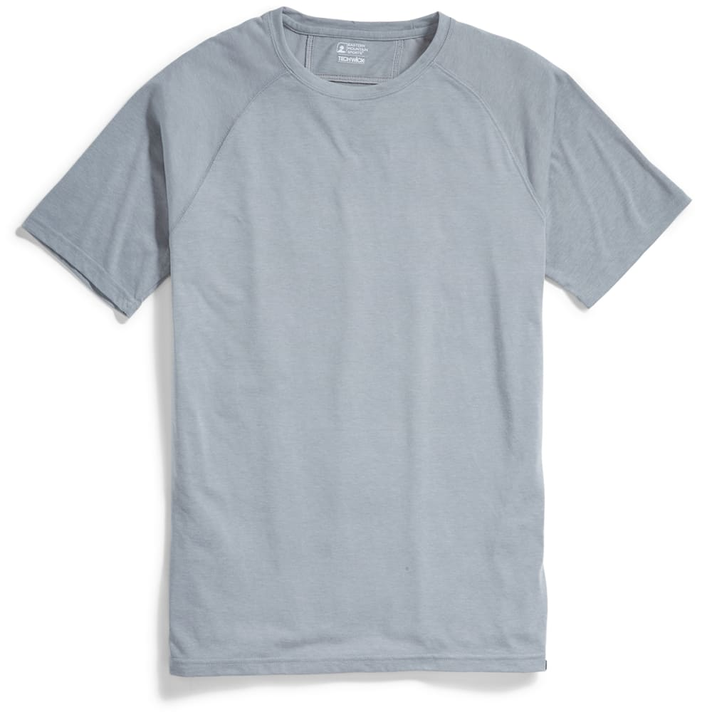 EMS® Men's Techwick® Vital Discovery Short-Sleeve Tee - NEUTRAL GRY HTR