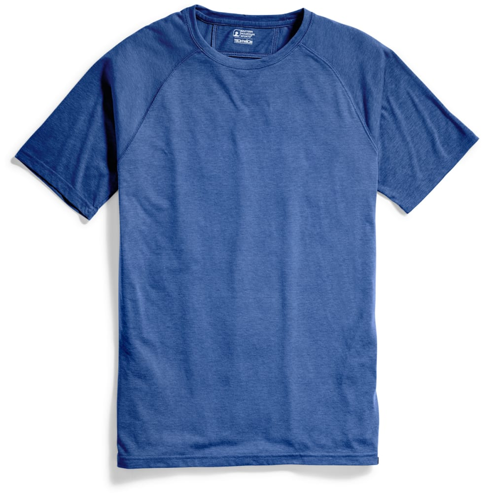 EMS® Men's Techwick® Vital Discovery Short-Sleeve Tee - DRESS BLUE