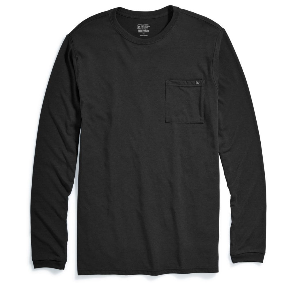 EMS® Men's Techwick® Vital Pocket Long-Sleeve Tee - ANTHRACITE