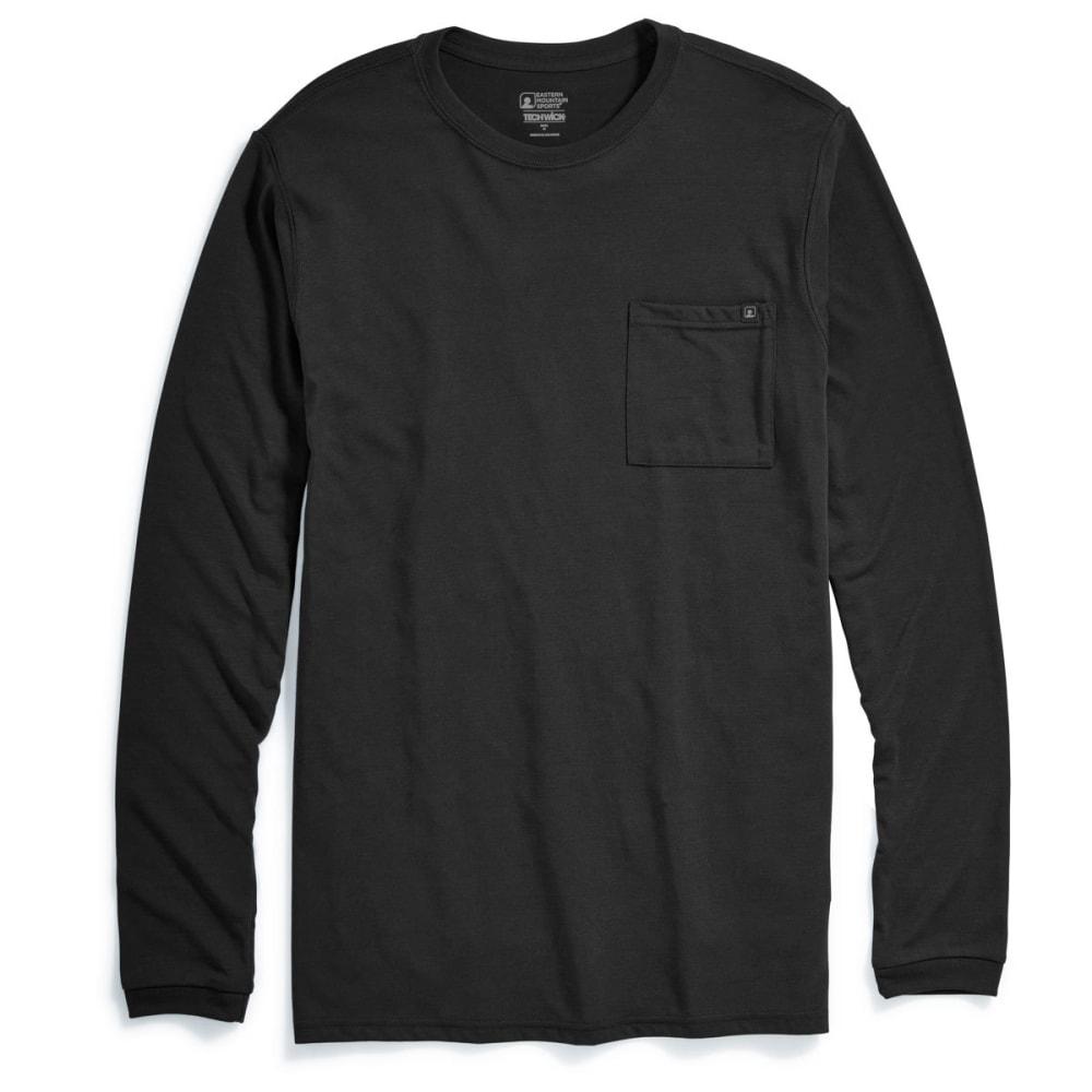 EMS® Men's Techwick® Vital Pocket Long-Sleeve Tee - ANTHRACITE