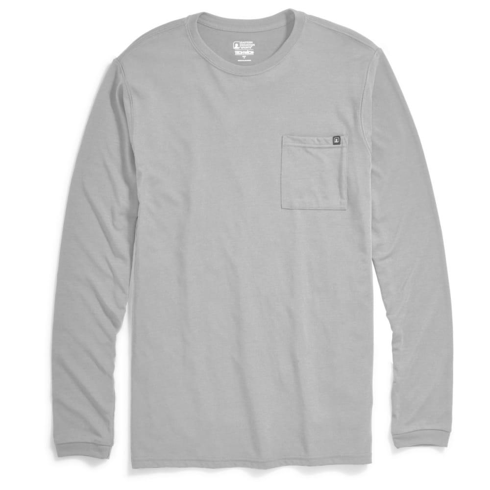 EMS® Men's Techwick® Vital Pocket Long-Sleeve Tee - NEUTRAL GRY HTR