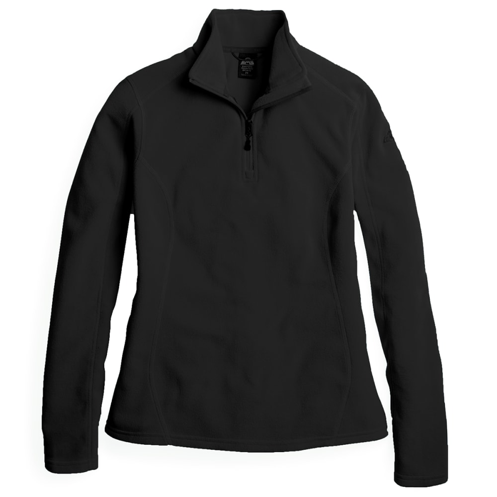 EMS Women's Classic Micro Fleece 1/4 Zip Pullover - ANTHRACITE