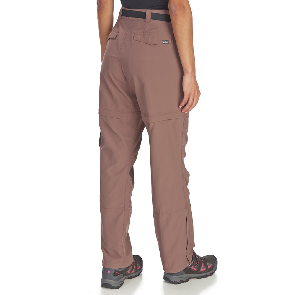 EMS Women's Camp Cargo Zip-Off Pants - PEPPERCORN