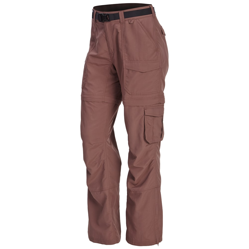 EMS Women's Camp Cargo Zip-Off Pants - PEPPERCORN