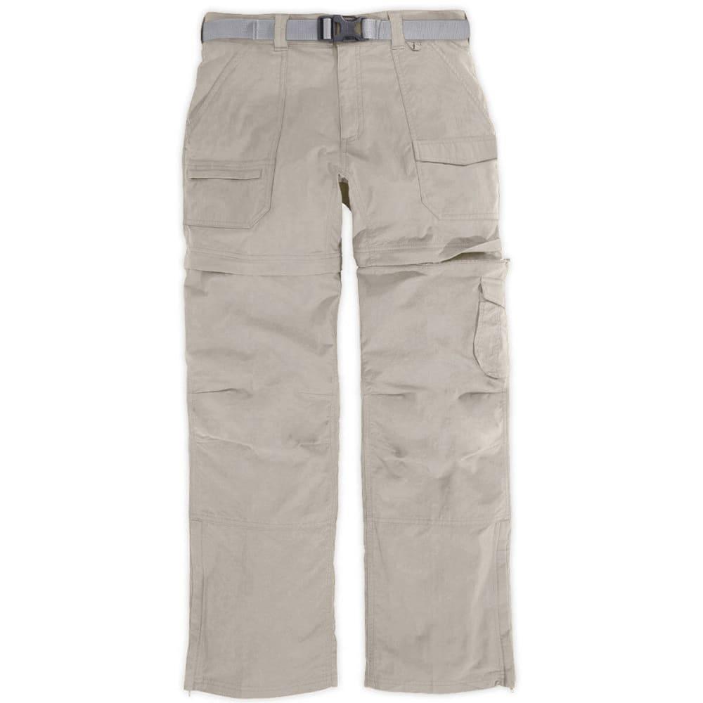 EMS Women's Camp Cargo Zip-Off Pants - ALUMINUM