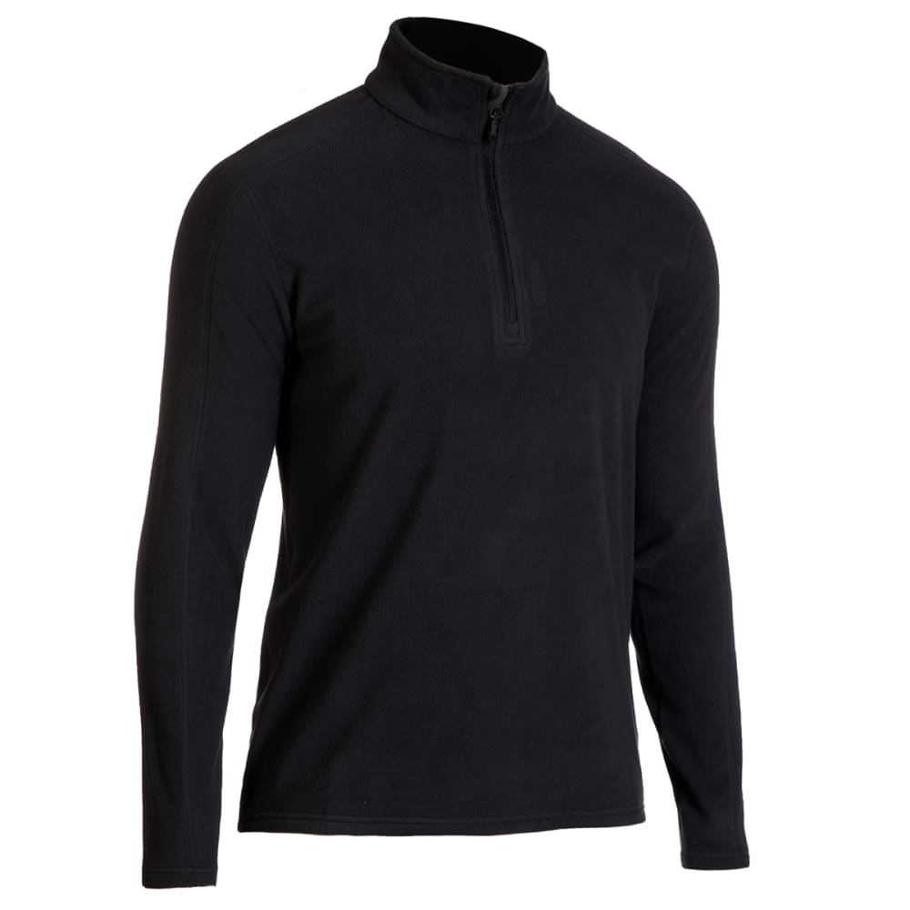 EMS Men's Classic Micro Fleece 1/4 Zip Pullover - ANTHRACITE