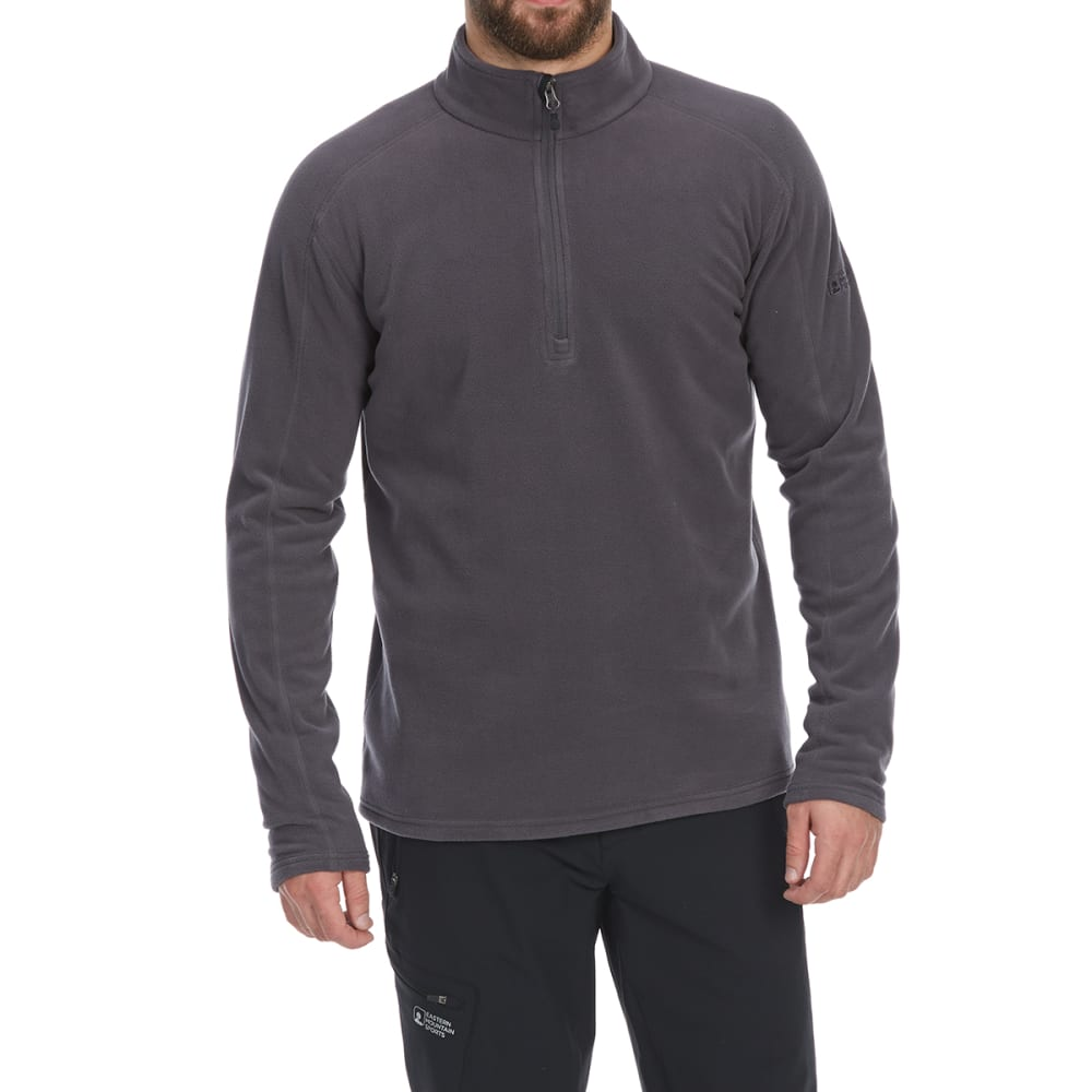 EMS Men's Classic Micro Fleece 1/4 Zip Pullover - FORGED IRON