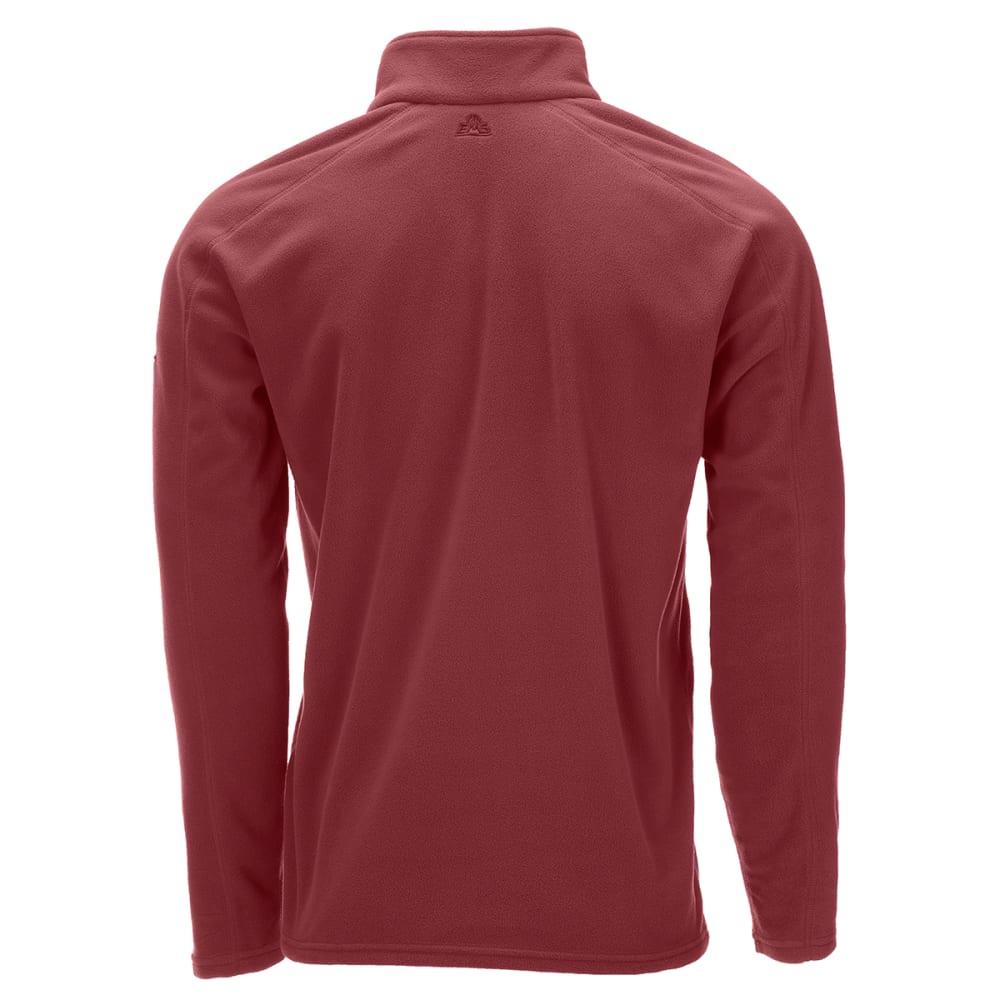 EMS Men's Classic Micro Fleece 1/4 Zip Pullover - OXBLOOD RED