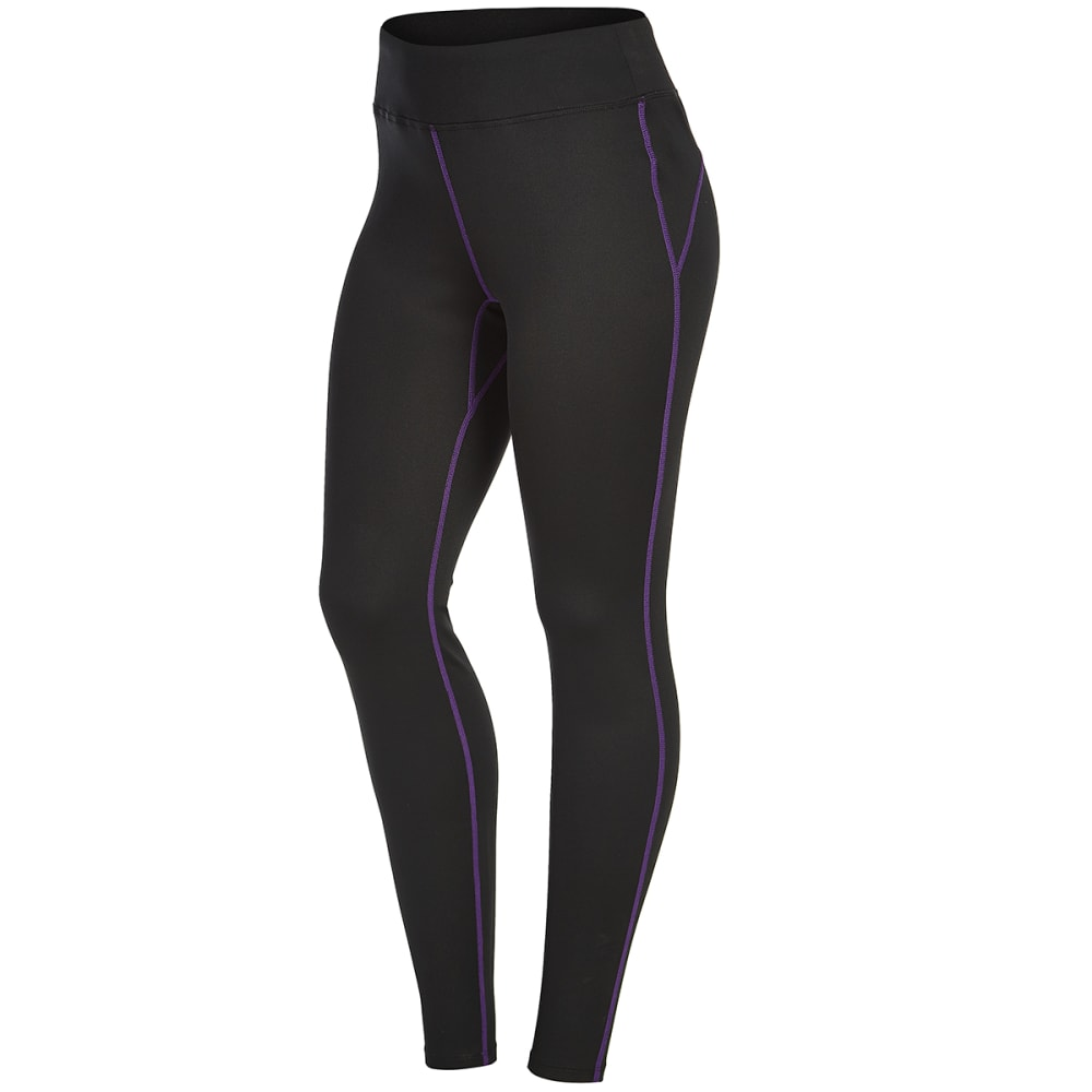 EMS Women's Techwick Heavyweight Base Layer Bottoms – Black