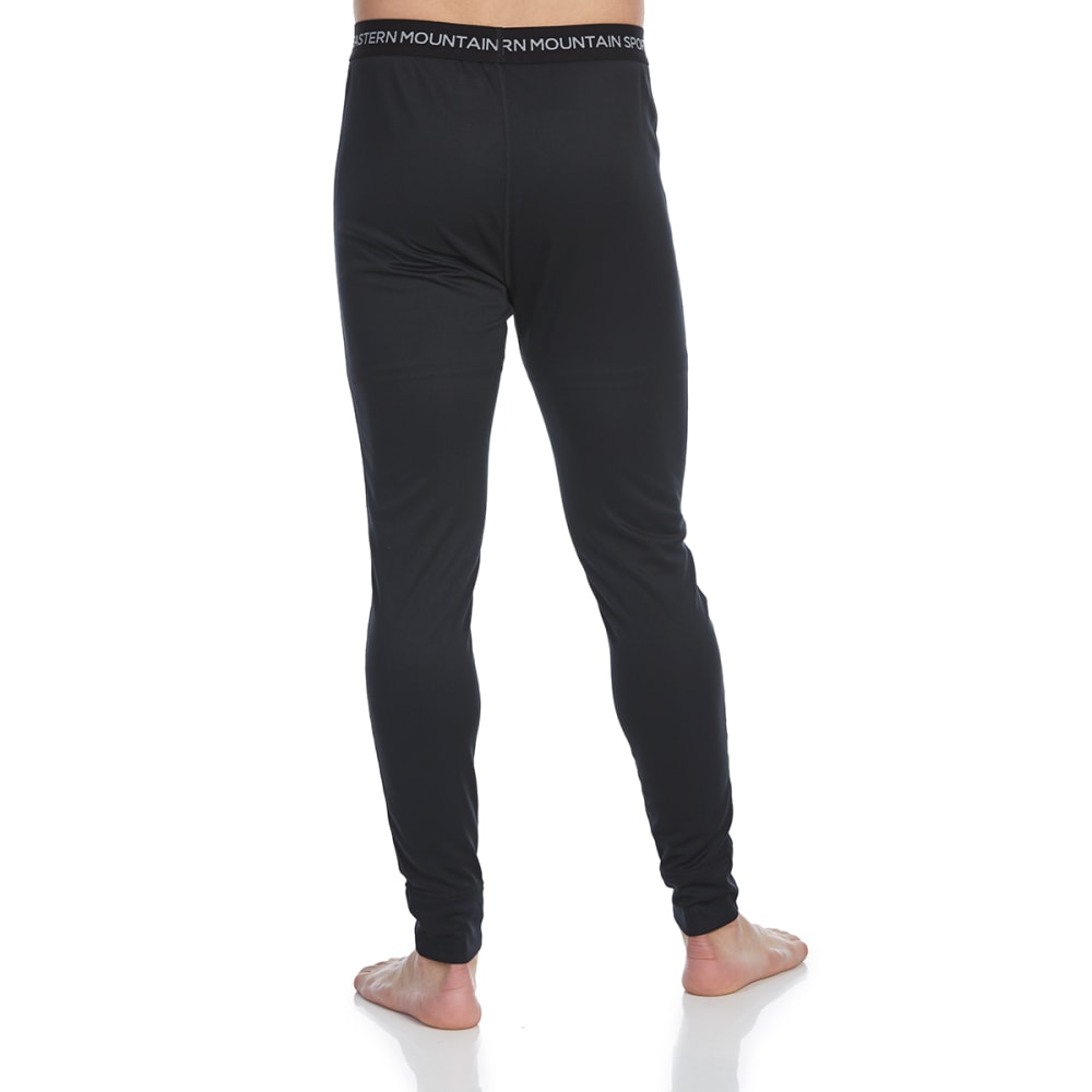 EMS Men's Techwick Midweight Base Layer Bottoms - ANTHRACITE