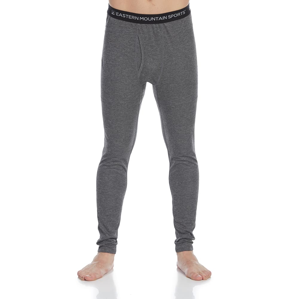 EMS Men's Techwick Midweight Base Layer Bottoms - NEUTRAL GRY