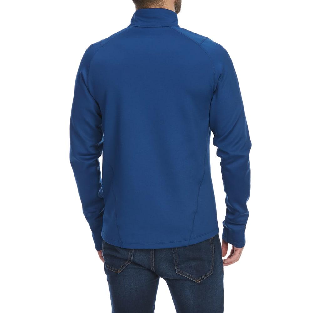 EMS Men's Techwick Heavyweight 1/4-Zip Base Layer Top - ESTATE BLUE