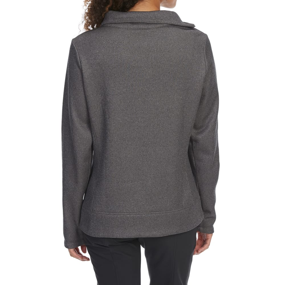 EMS Women's Destination Funnel-Neck Pullover - PHANTOM