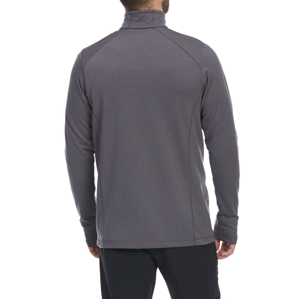 EMS Men's Techwick Dual Thermo II Half Zip Pullover - TORNADO