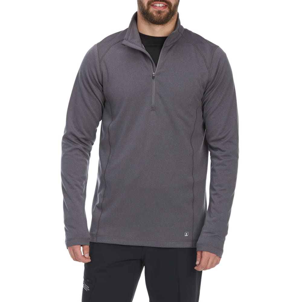 EMS Men's Techwick Dual Thermo II Half Zip Pullover S