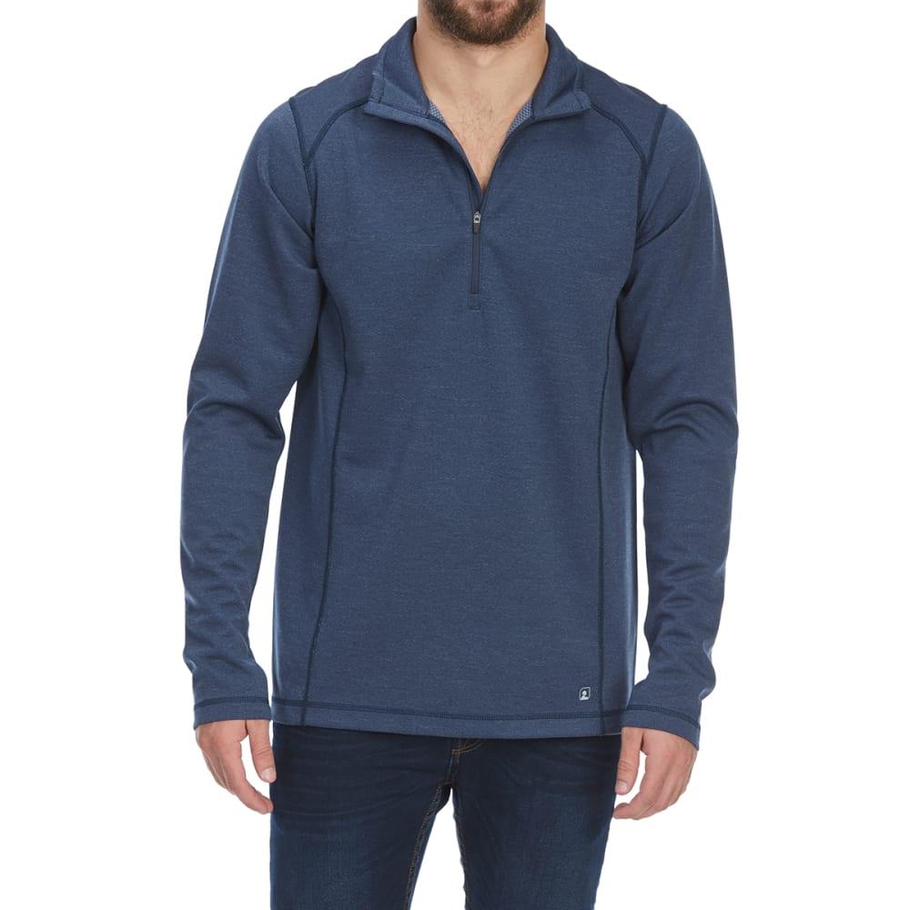 EMS Men's Techwick Dual Thermo II Half Zip Pullover - DRESS BLUE