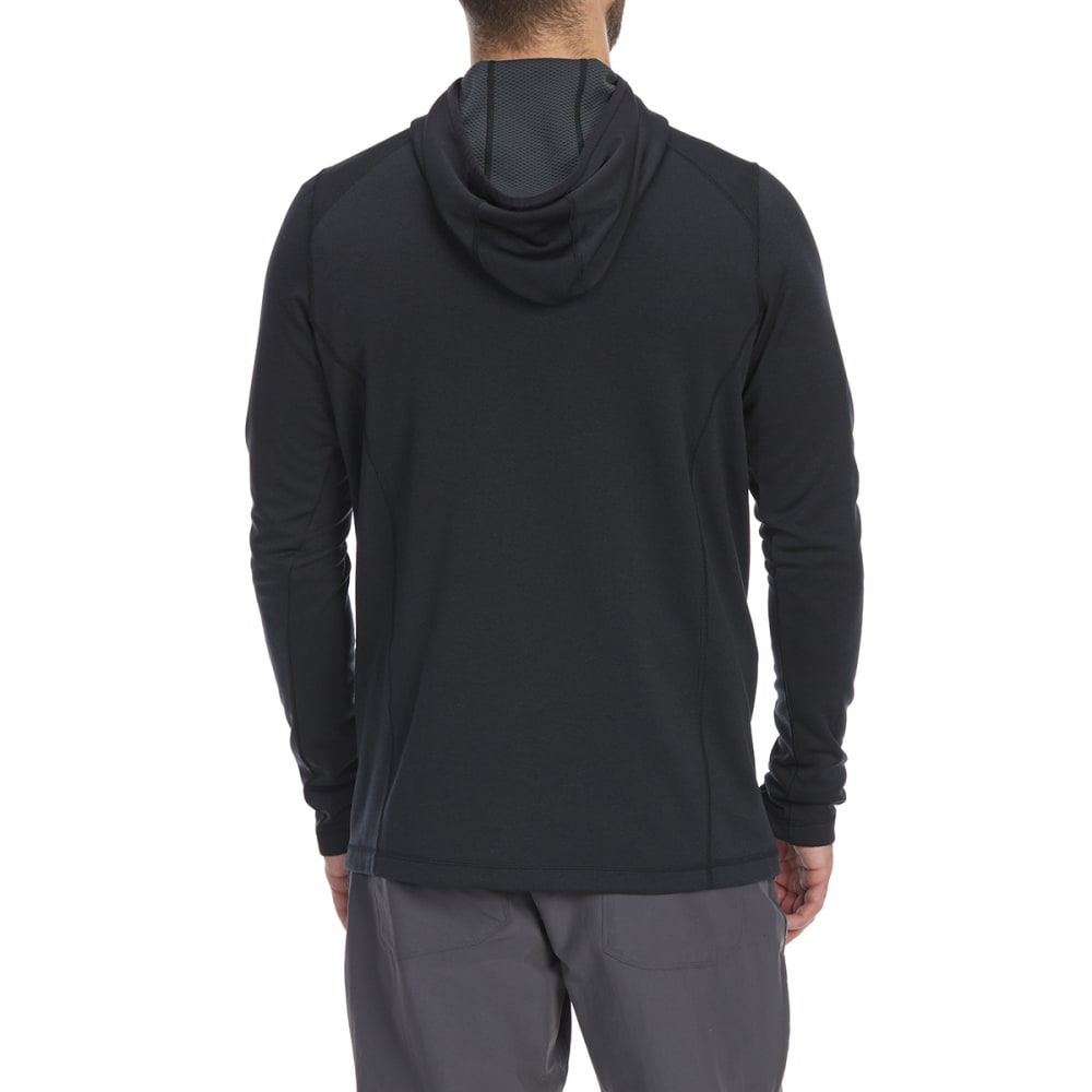EMS Men's Techwick Dual Thermo II ½-Zip Pullover Hoodie - ANTHRACITE
