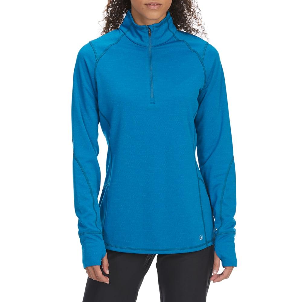 EMS Women's Techwick Dual Thermo II Half Zip Pullover - MYKONOS