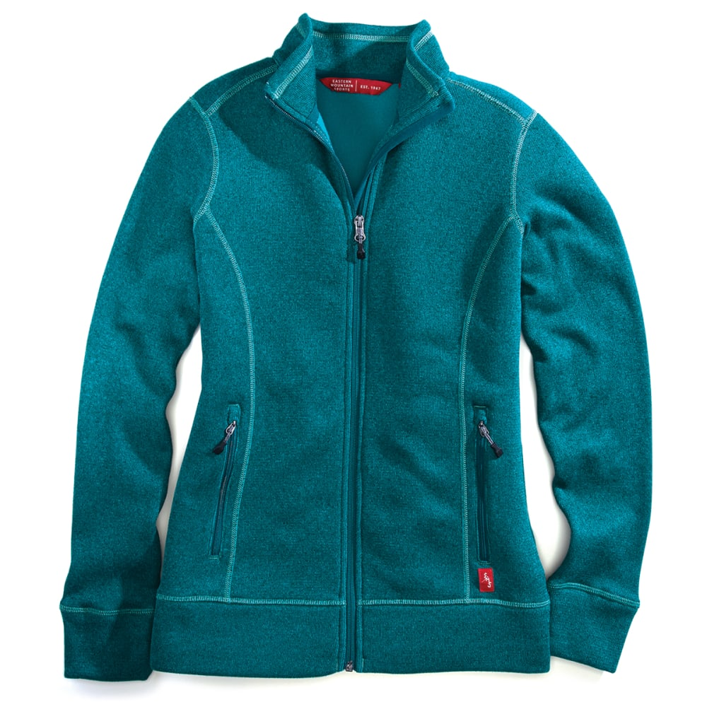 EMS Women's Destination Full-Zip Fleece - BOTANICAL GARDEN