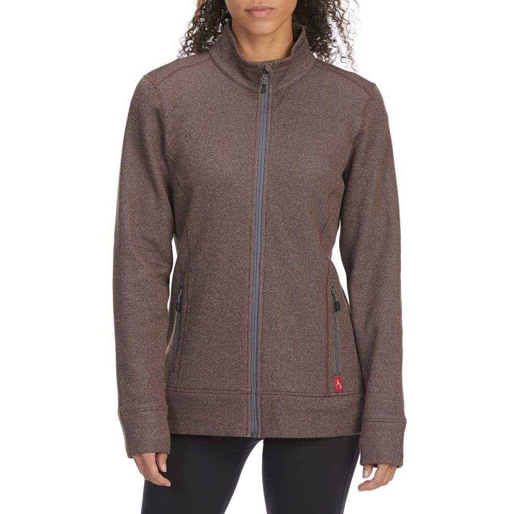 EMS Women's Destination Full-Zip Fleece - PEPPERCORN