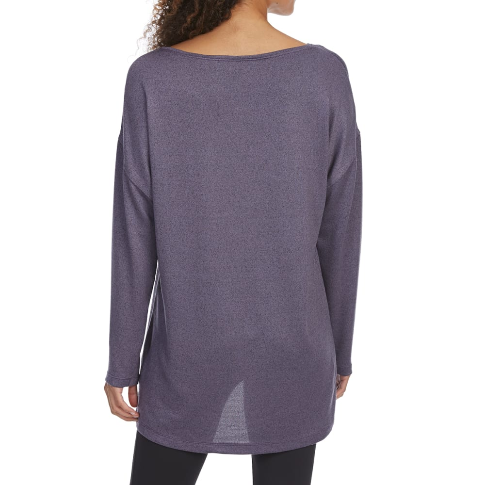 EMS Women's Cochituate Scoop-Neck Long-Sleeve Top - CADET