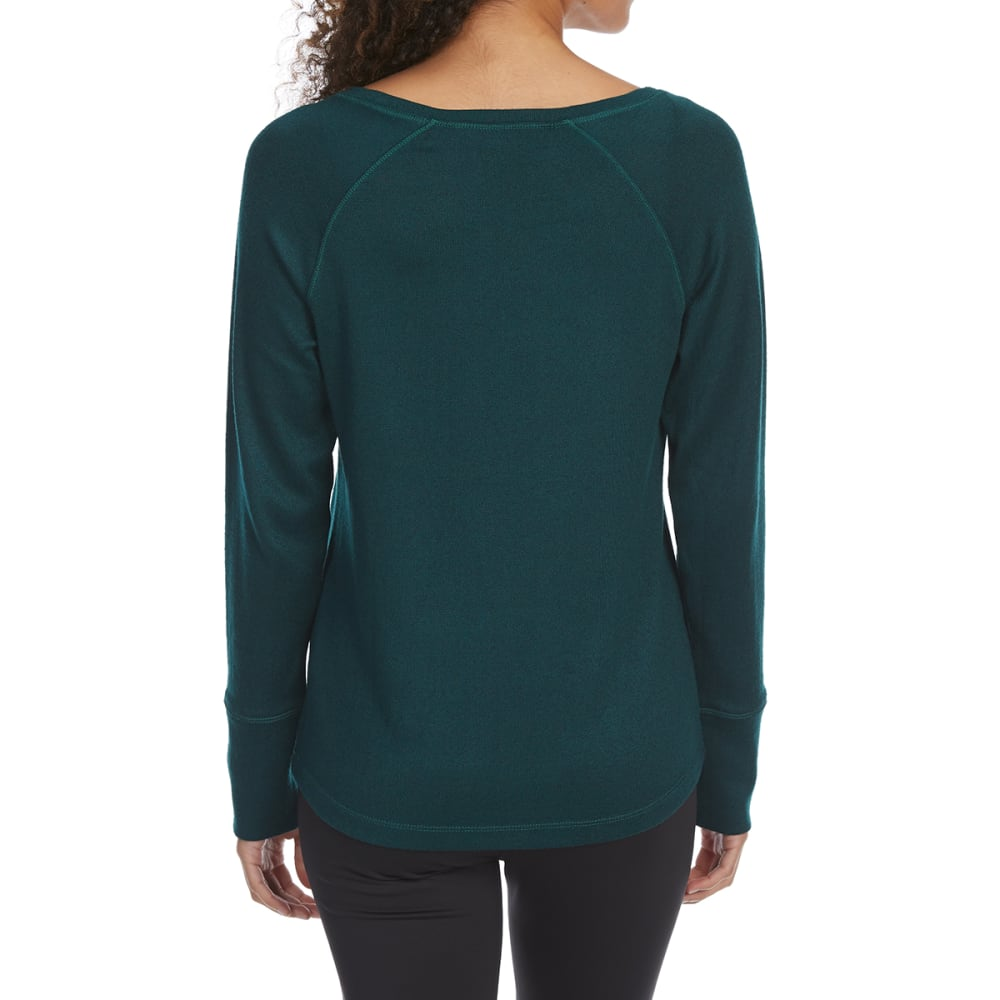 EMS Women's Cochituate Crew Long-Sleeve Top - BOTANICAL GARDEN