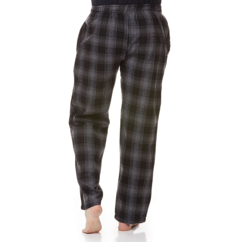 GELERT Men's Flannel Lounge Pants - BLK/CHR PLD