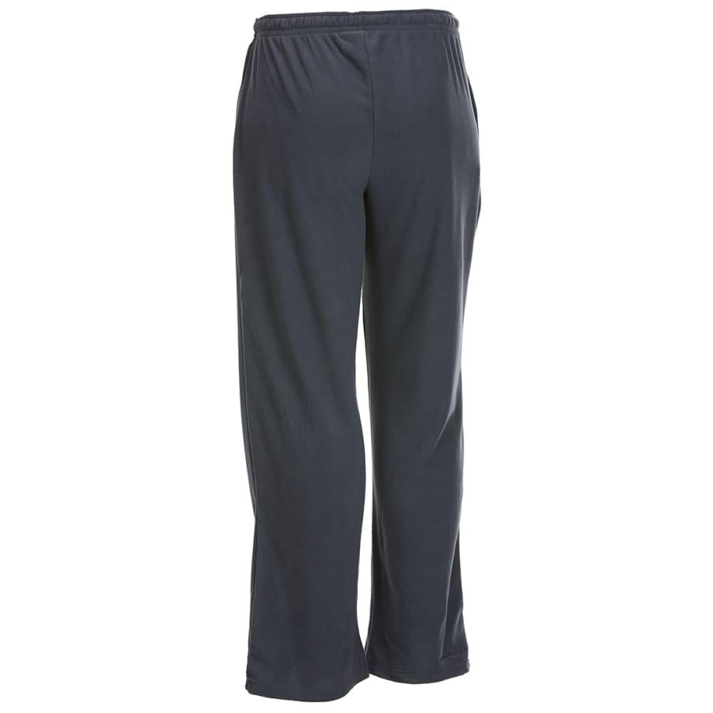 GELERT Men's Solid Fleece Lounge Pants - SOLID CHARCOAL