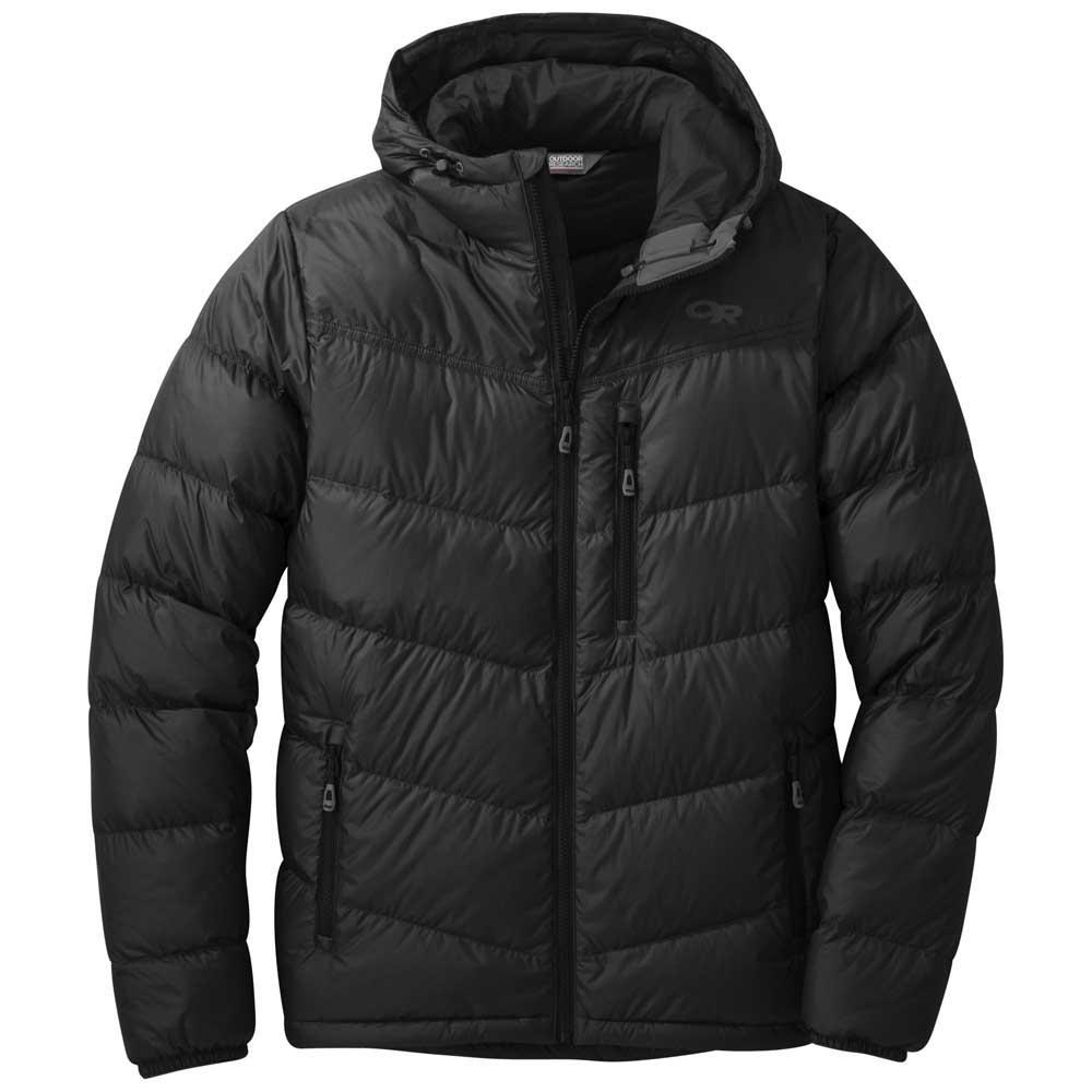 OUTDOOR RESEARCH Men's Transcendent Down Hoody - BLACK