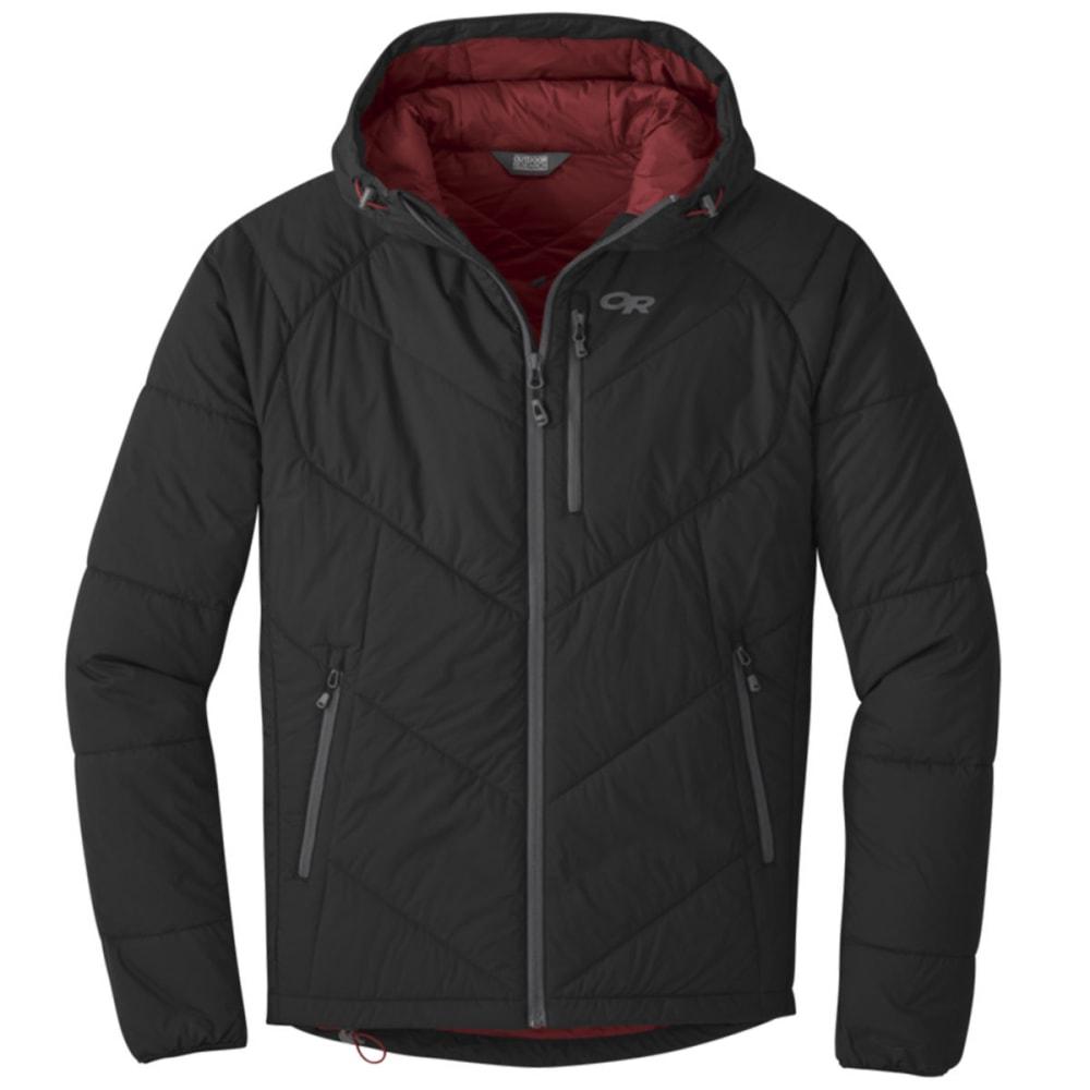 OUTDOOR RESEARCH Men's Refuge Hooded Jacket - BLACK