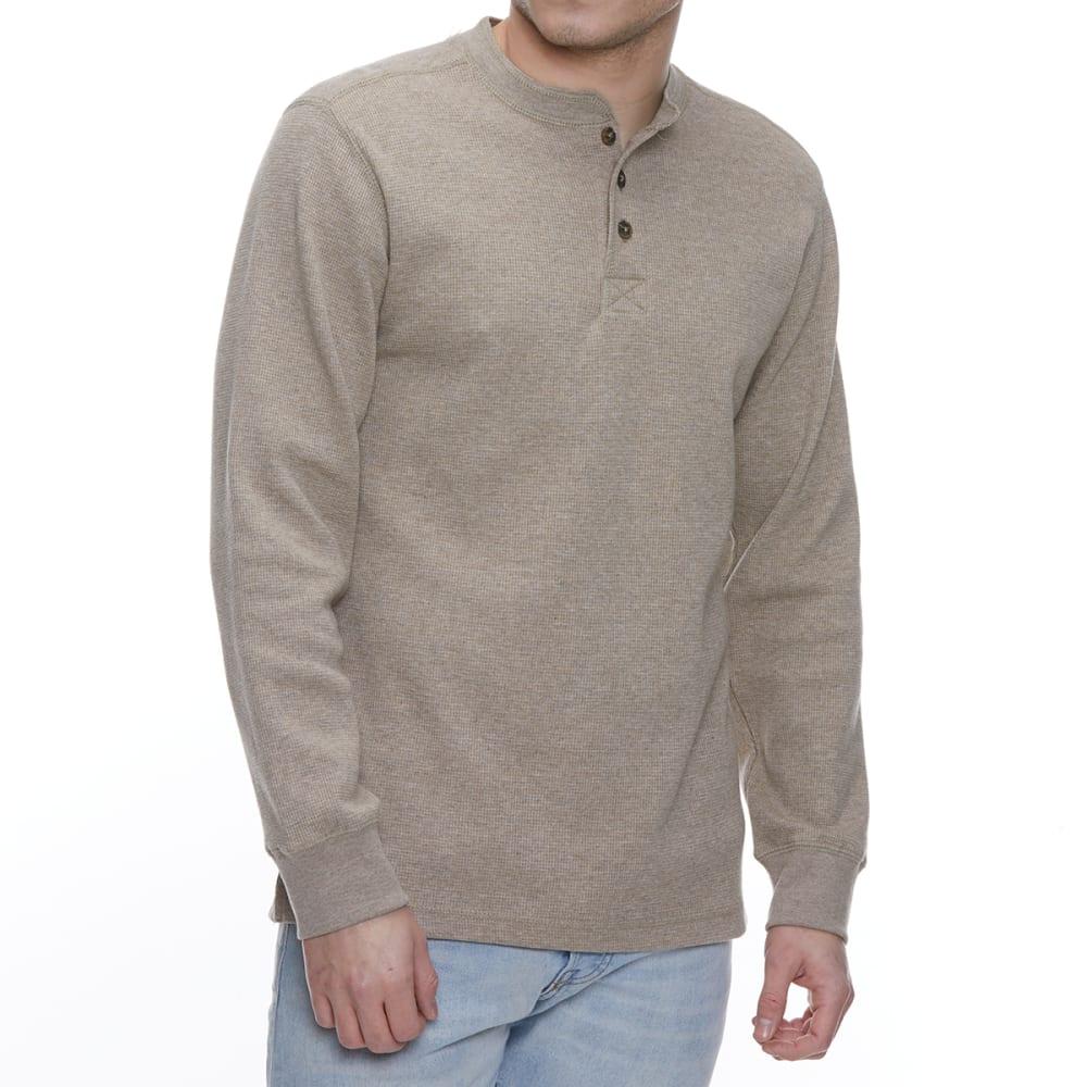 GELERT Men's Thermal Long-Sleeve Henley L