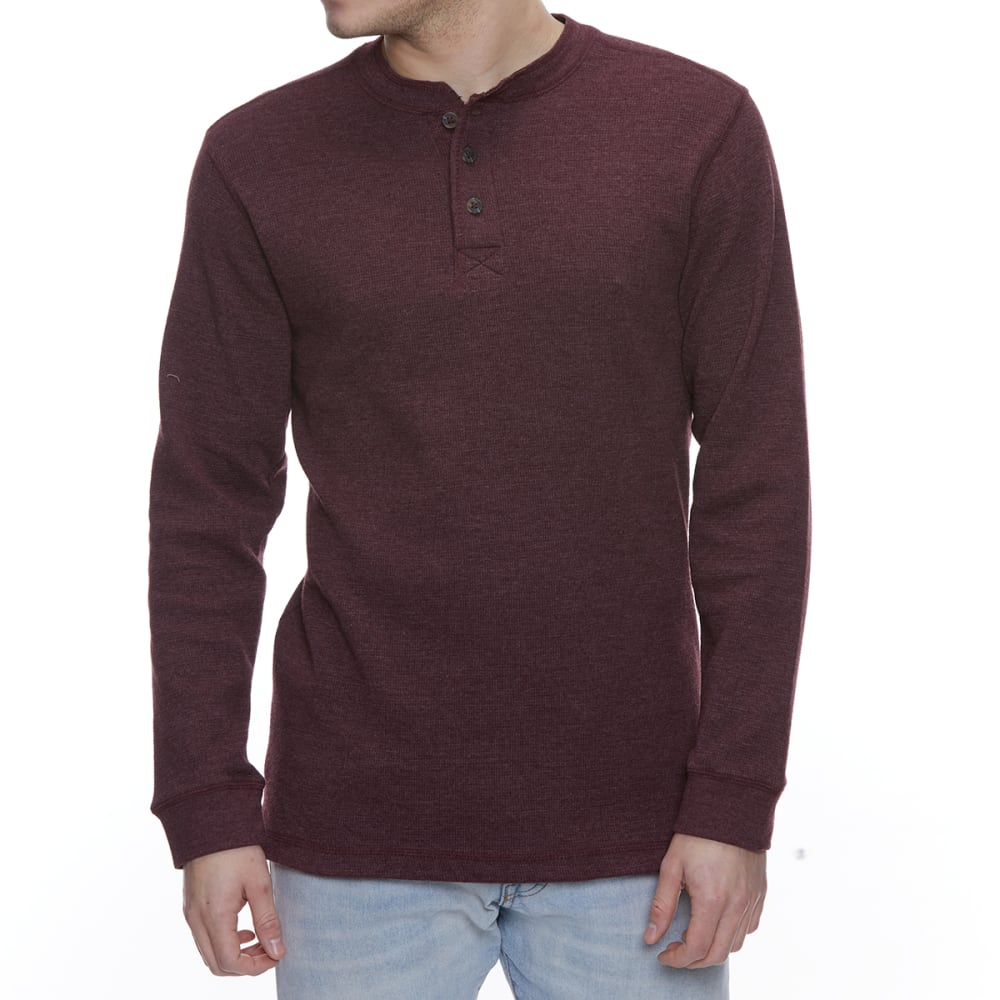 GELERT Men's Thermal Long-Sleeve Henley L
