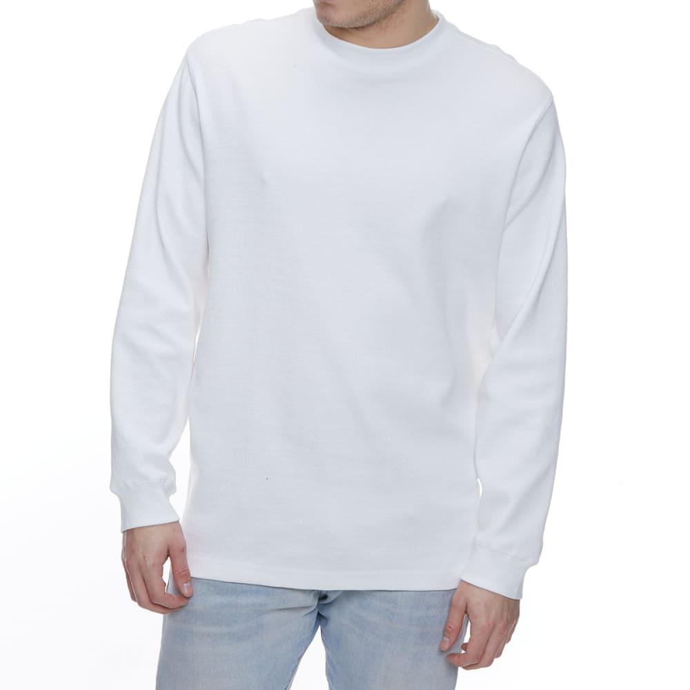 GELERT Men's Thermal Crew Long-Sleeve Shirt - WHITE