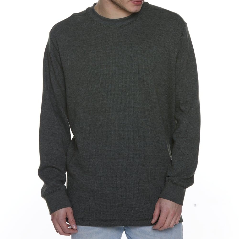 GELERT Men's Thermal Crew Long-Sleeve Shirt - DARK GREEN