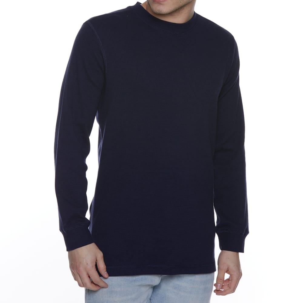 GELERT Men's Thermal Crew Long-Sleeve Shirt - NAVY