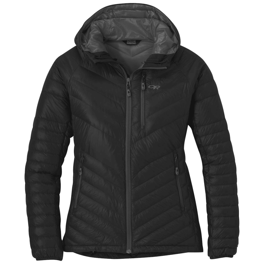 OUTDOOR RESEARCH Women's Illuminate Down Hoody - BLACK