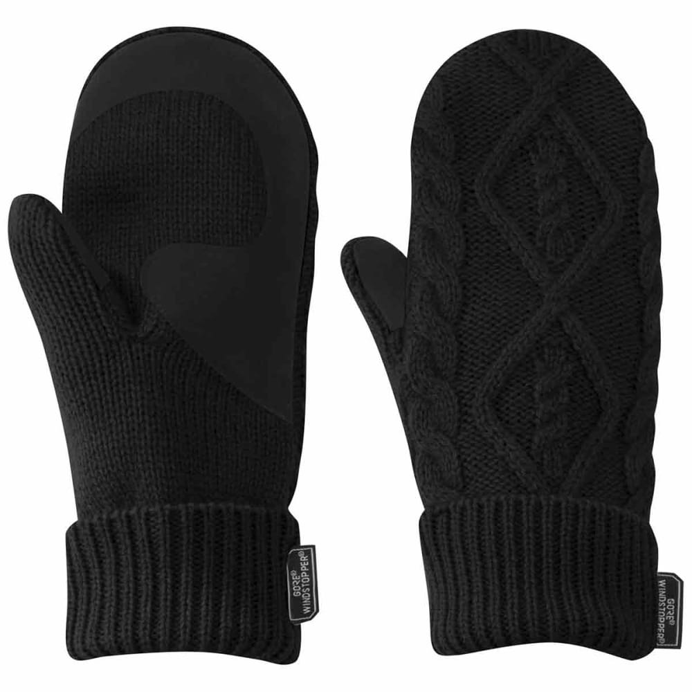 OUTDOOR RESEARCH Women's Lodgeside Mitts - BLACK