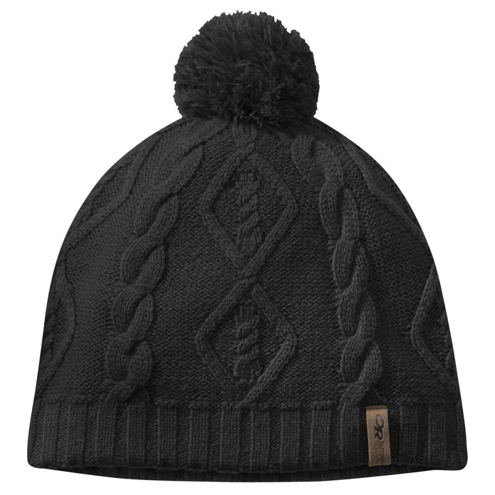OUTDOOR RESEARCH Women's Lodgeside Beanie - BLACK