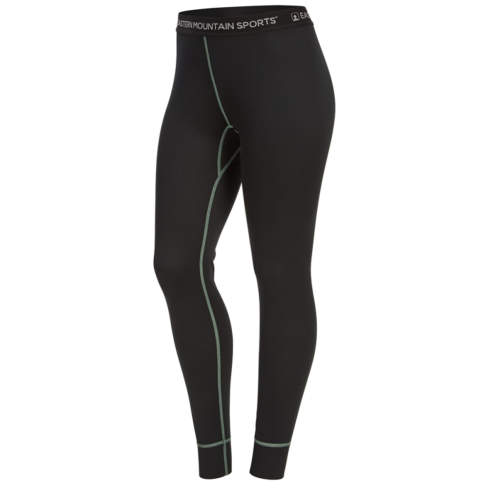 EMS Women's Techwick Midweight Base Layer Tights - ANTHRACITE