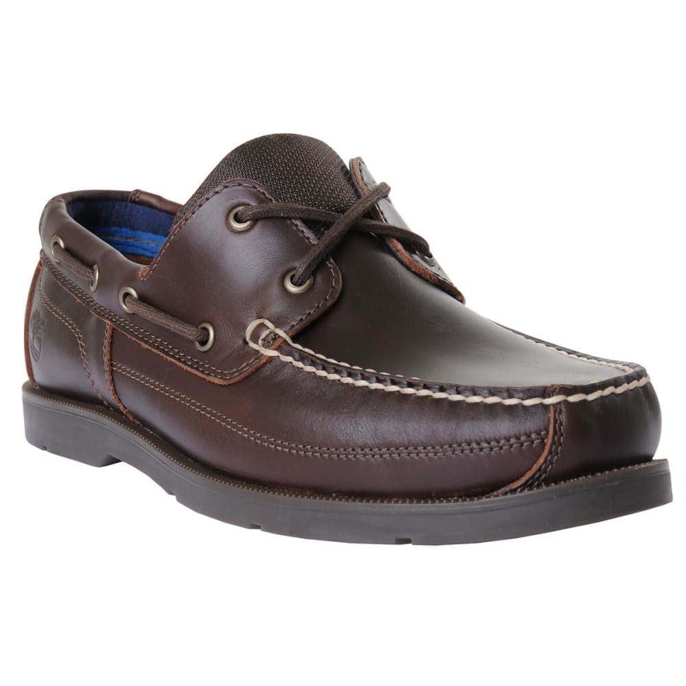 TIMBERLAND Men's Piper Cove Boat Shoes - MED BROWN
