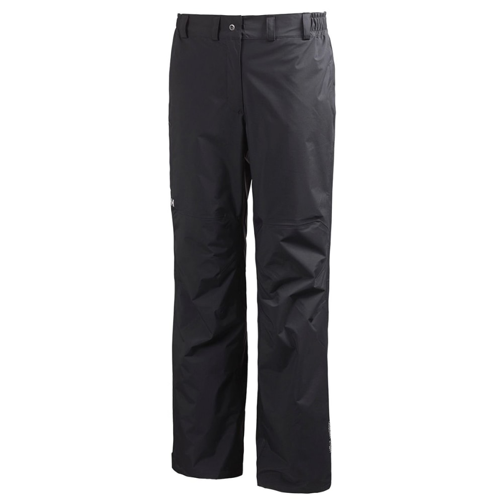 HELLY HANSEN Women's Packable Pants - BLACK