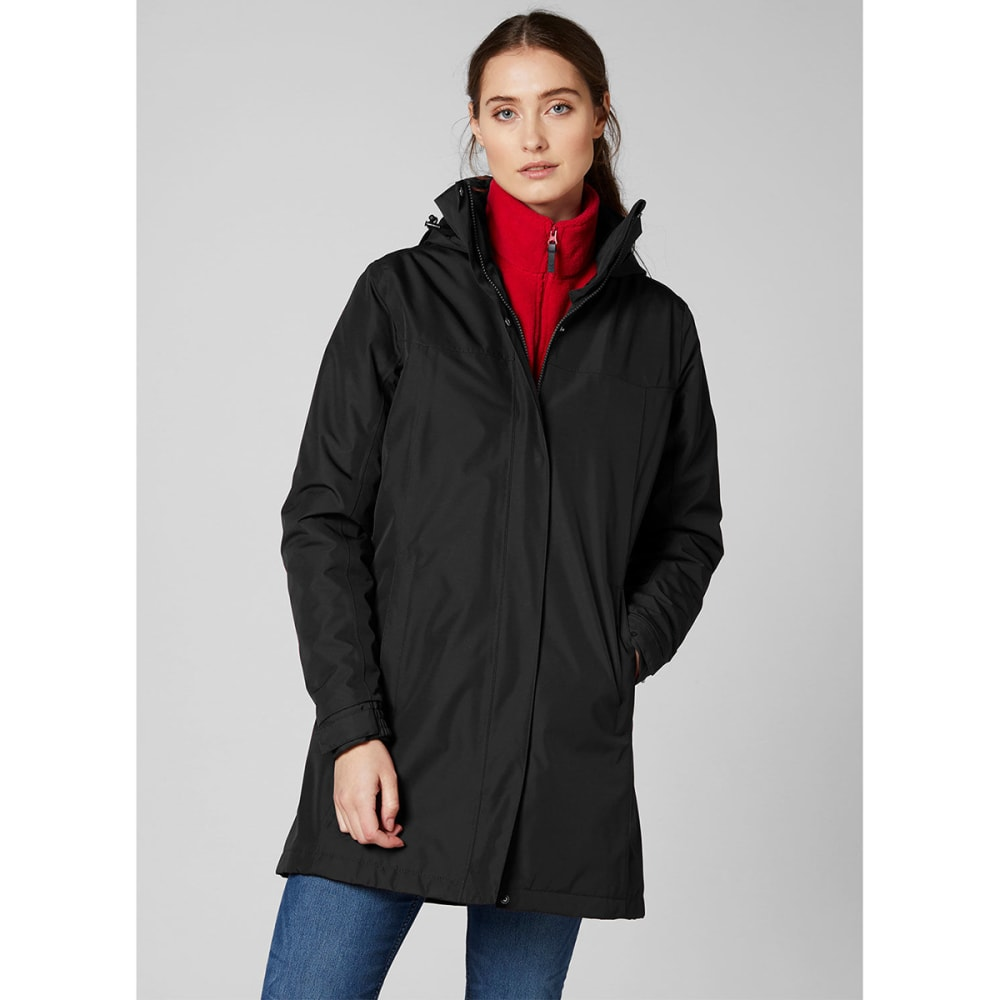 HELLY HANSEN Women's Aden Insulated Coat - BLACK