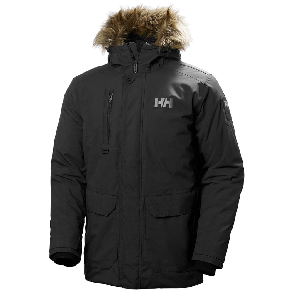 HELLY HANSEN Men's Svalbard Parka - BLACK