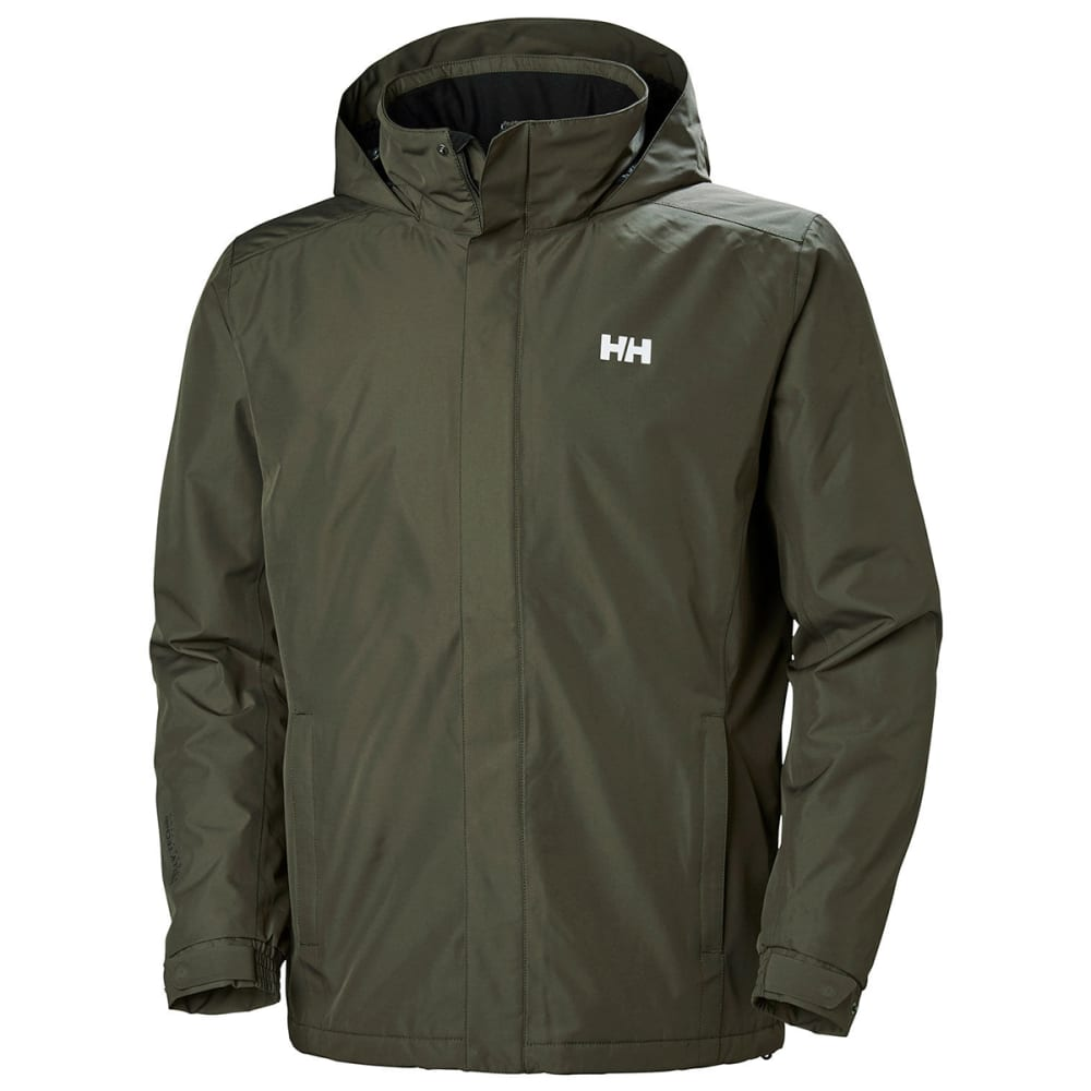 HELLY HANSEN Men's Dubliner Insulated Jacket - BELUGA
