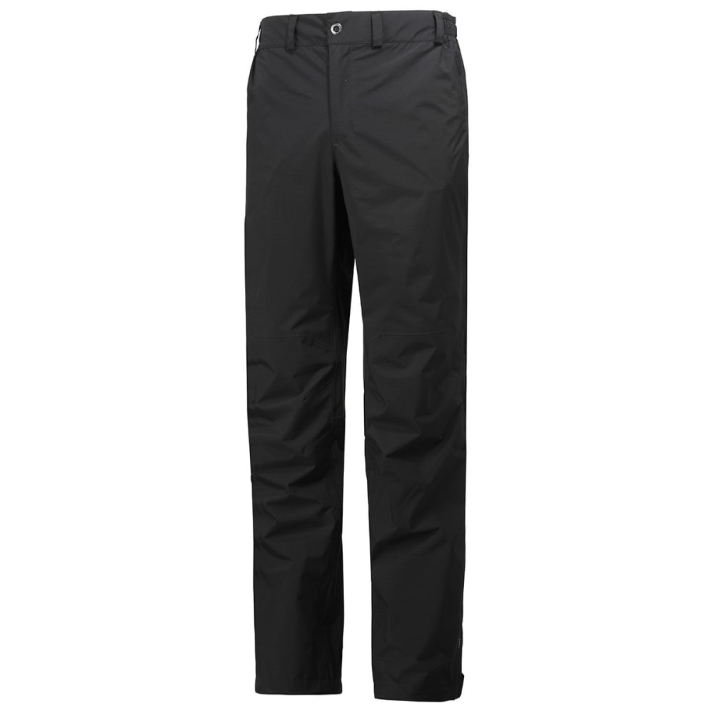 HELLY HANSEN Men's Packable Pants - BLACK