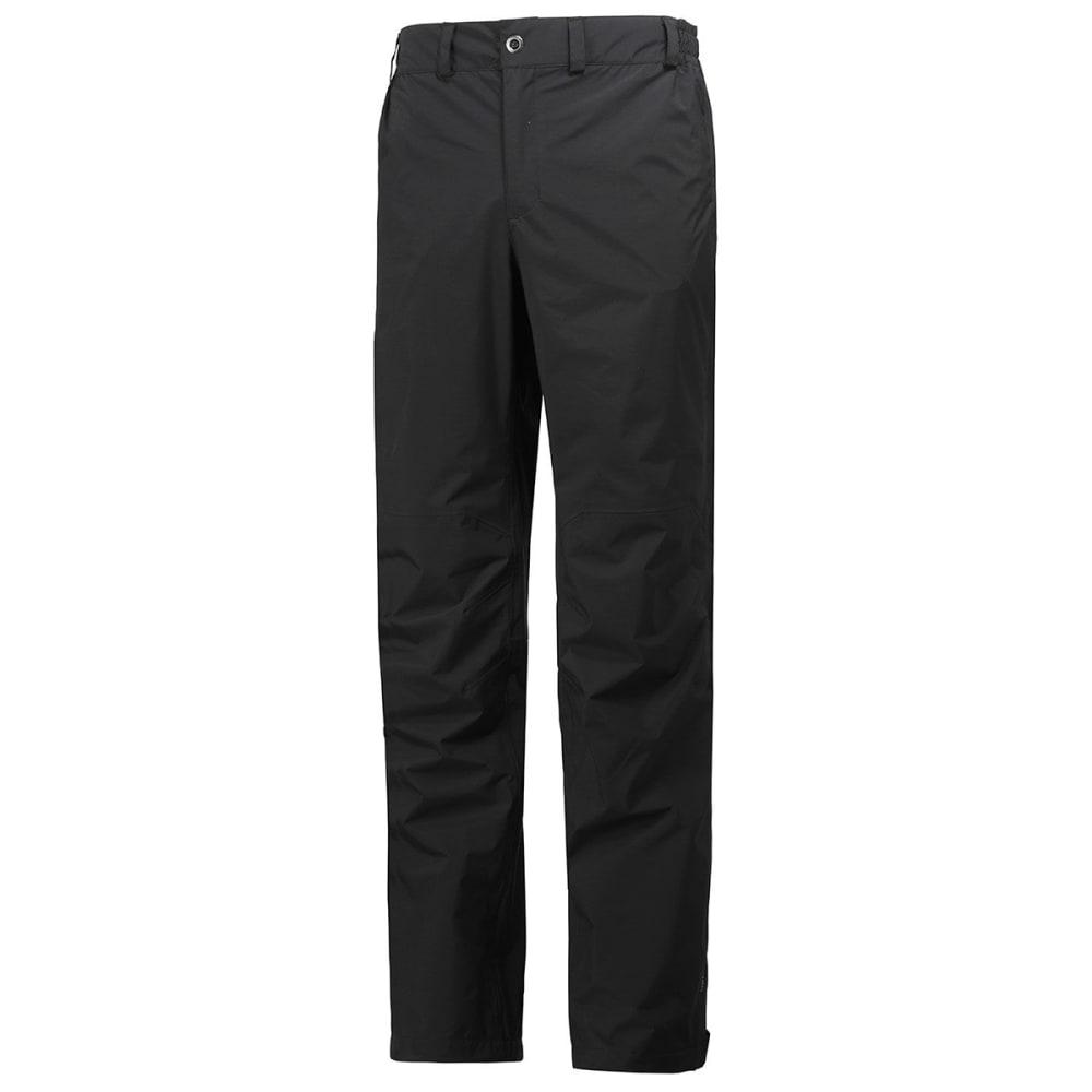 HELLY HANSEN Men's Packable Pants - BLACK