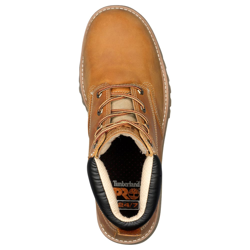 TIMBERLAND PRO Men's 6 in. Gritstone Steel Toe Work Boots - WHEAT 231