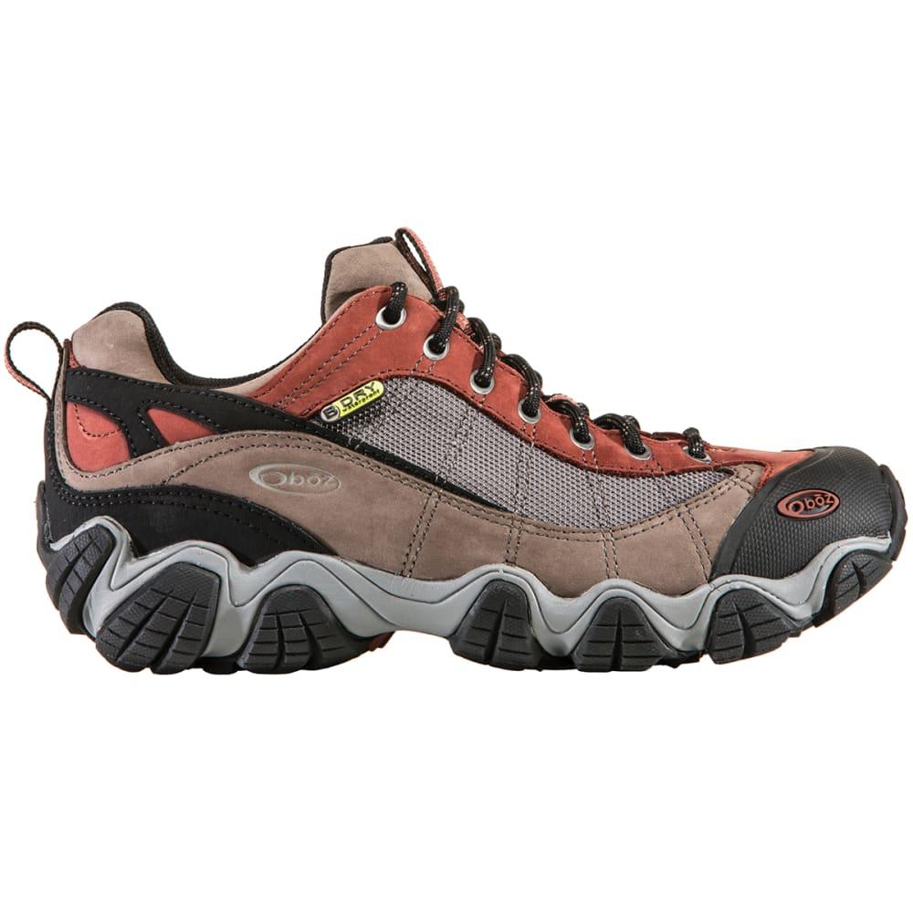 OBOZ Men's Firebrand II Low Waterproof Hiking Shoes, Wide - EARTH
